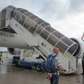 Flughafen Mahé - einsteigen