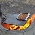 Windjana Gorge - Steaks zum Znacht