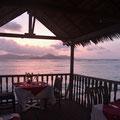 Restaurant der 'La Digue Island Lodge'