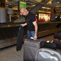 Gepäckausgabe am Flughafen JFK