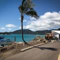 Shute Harbour (Hafen von Airlie Beach) - unser Boot