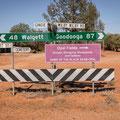 der Weg nach Grawin (Opalfelder)