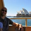 Auf der Fähre Richtung Darling Harbour
