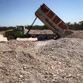 auf dem 'Dump' - ein Miner bringt neue Ware