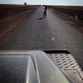 auf dem Weg nach Rubyvale - nach Stonehenge