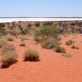 Unterwegs Richtung Uluru - Lake Alexander (Salzsee)