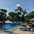 Pool beim Hotel 'Beau Vallon'
