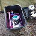 Unser Campingplatz - Küchenutensilien