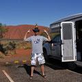 Uluru - von der Sunset Vewing Area aus - Maskottchen