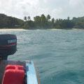 Ankunft 'Big Sister Island'