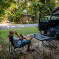 Lync Haven Rainforest Retreat, Daintree National Park - unsere Campingparzelle