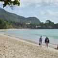Strand beim Hotel 'Beau Vallon'
