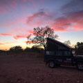 Die Sonne geht auf in Duck Creek