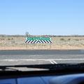 einbiegen in den Stuart Highway