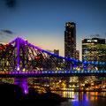 Sunset Story Bridge vom Wilson Outlook Reserve aus