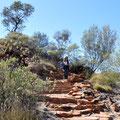 Kings Canyon Rim Walk - Ende der Wanderung