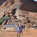 Start des 'Uluru Base Walk', 10 km