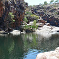 Bell Creek - unterhalb des Wasserfalls