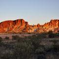 Rainbow Valley - Sunset