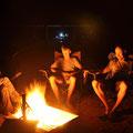 Bushcamp Rainbow Valley - Campfire