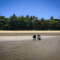Wonga Beach bei Ebbe