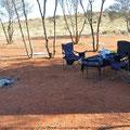 Sandy Way Rest Area (24-Stunden-Gratis-Camping) - Am Morgen