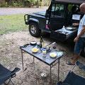 Lync-Haven Rainforest Retreat - unsere Campingparzelle