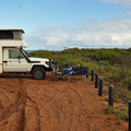 F. Peron National Park - Camping Bottle Bay