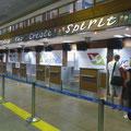 Flughafen Mahé - Check-in