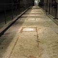 9/11 Museum - Original Fundament der Twin Tower unter dem Wasserfall-Pool