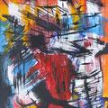 Nr. 036 - 35x47, Acryl auf Papier