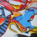Nr. 042 - 35x47, Acryl auf Leinwand