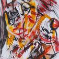 Nr. 035 - 35x47, Acryl auf Papier