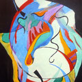 Nr. 027 - 35x47, Acryl auf Papier