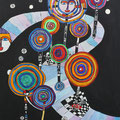 Nr. 010 - 60x80, Acryl auf Leinwand