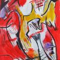 Nr. 031 - 35x47, Acryl auf Papier