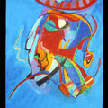 Nr. 018 - 50x70, Acryl auf Leinwand