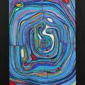Nr. 014 - 60x80, Acryl auf Leinwand