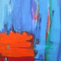 Nr. 030 - 35x47, Acryl auf Leinwand