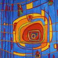 Nr. 021 - 50x70, Acryl auf Leinwand