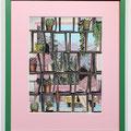 """Magazine#4""  21.5×28.9cm Acrylic on cotton Commission Work for ZEIT-Magazine"