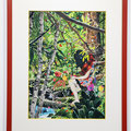 """Magazine#7"" 24.3×34cm Acrylic on cotton Commission Work for ZEIT-Magazine"