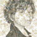 理想的なこども 2   鉛筆・アクリル・ケント紙   185×185