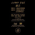 LAMP EYE - 証言 20th Edition [7inch] Mastering for Pressing