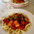 Sauce tomate aux tomates cerises séchées