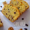 Recette du cake sans oeufs au mahlepi, à l'orange, aux noix et aux raisins de Corinthe