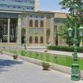 Golestan-Palast, bis zur islamischen Revolution Stadtschloss des Schahs.
