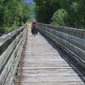 Auf dem Otago Central Rail Trail gibt es viele Brücken.