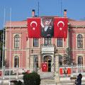 Kemal Atatürk, der Staatsgründer, wird sehr verehrt