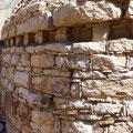 Mehr als 4000 Jahre alte Ruinen am Rio Tablachaca.